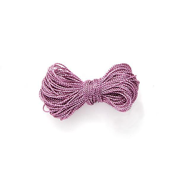 Metalliserad tråd, rosa