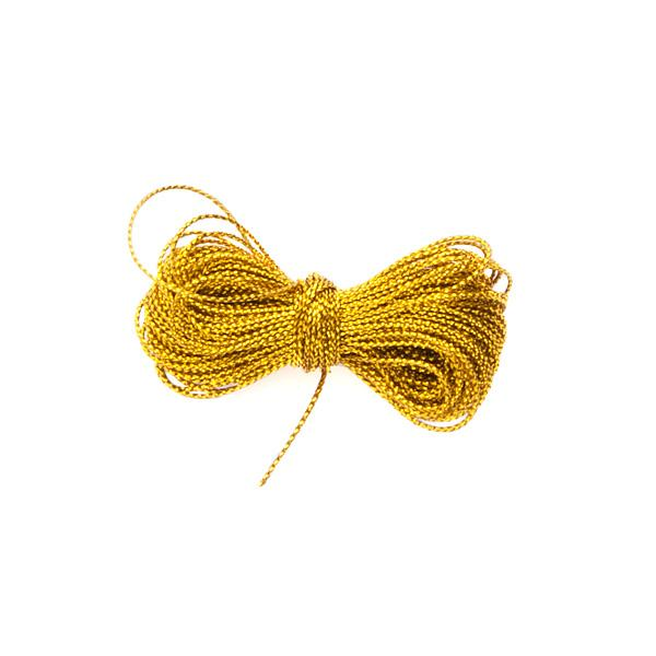 Metalliserad tråd, guld