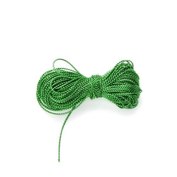 Metalliserad tråd, grön