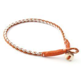 Materialsats Halsband Rund 4-fläta