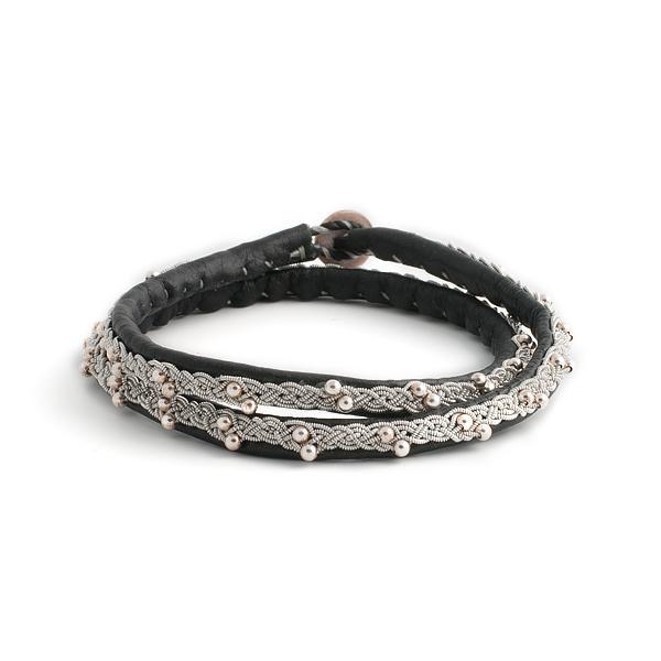 "Materialsats 2-i-1 Armband ""Gimle"""